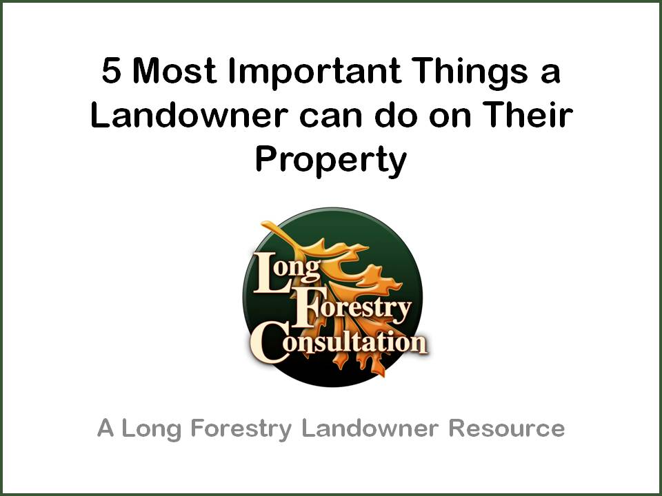 What a Landowner Should Do